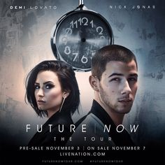 DEMI LOVATO AND NICK JONAS ARE GOING ON TOUR TOGETHER! FUTURE | NOW