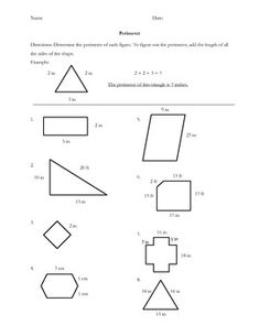 Printables Finding Perimeter Worksheets this free worksheet is a great resource for extra practice in finding area and perimeter if you like product please leave fee