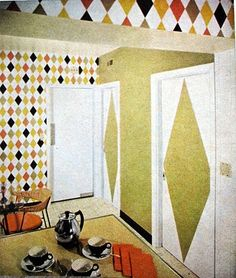 Better Homes and Gardens Decorating #Atomic #50s #MidCentury # Modernism