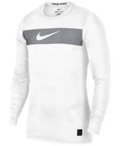 Nike Men s Pro Warm Dri-FIT Compression T-Shirt Men - T-Shirts - Macy s b2f18e2e2