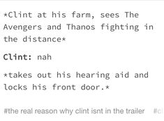 That's why we haven't seen him in any of the advertising for IW