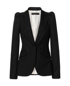 Ønsker mig denne her!! BLAZER WITH GATHERED SHOULDERS str. M from Zara kr. 699