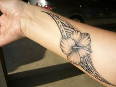 Samoan Tribal Tattoos | samoan flower tattoo | Flickr - Photo Sharing!