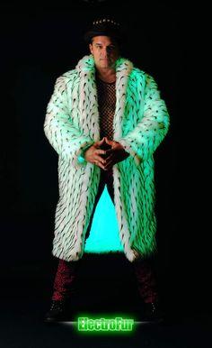 "Wow... ('Men's Celebrity Full-Length Coat' from ""ElectroFur Creations"")"