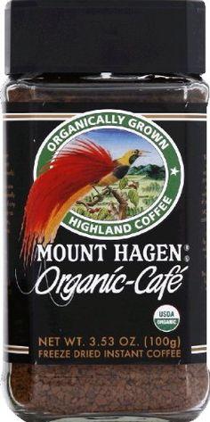 #Mount #Hagen Organic Coffee- 3.53 oz jar