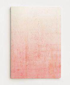 Pink Ombre als Notizheft von cafelab | JUNIQE