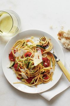 Summer Pasta Recipes That Will Be The Most Popular Dish On the Table, Guaranteed: Burst Tomato and Herb Spaghetti Recipe