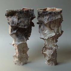 monika patuszyńska : 35 cm, porcelana, Anagama/Noborigama
