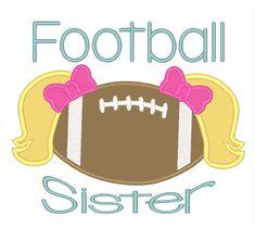 Designs :: Sports :: Football Sister