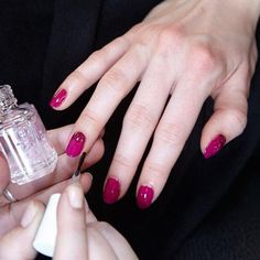 Fashion Week Fall 2015: The Best Runway Manicures - Sophie Theallet from #InStyle