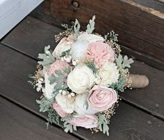 Image result for dusty miller bouquet