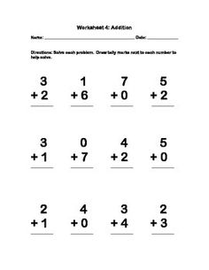 Basic addition worksheets to a sum of 10. There are 20 worksheets designed to use repetition to help achieve mastery. Each worksheet is different, but problems are repeated throughout the series. Great for all learners, but especially helpful for struggling learners. Beneficial for children with autism because the worksheets have no more than 12 problems per sheet. Worksheets are not visually overwhelming.