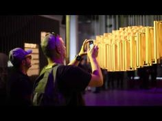 [Sculpture in Motion] 2015 밀라노 디자인 위크 Helio Curve - YouTube