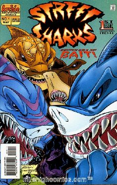 Street Sharks!