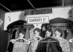 Inside Lady Jane boutique, Carnaby Street, 1967