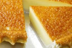 Buttermilk_Pie.  My grandma used to make these and we loved them!  Reminds me of her!
