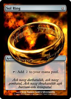 Sol Ring by aeoncleanse.deviantart.com on @DeviantArt