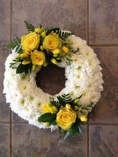 Funeral Floral Arrangements, Flower Arrangements, Funeral Flowers, Wedding Flowers, Funeral Sprays, Sympathy Flowers, Arte Floral, Flower Decorations, Flower Pots