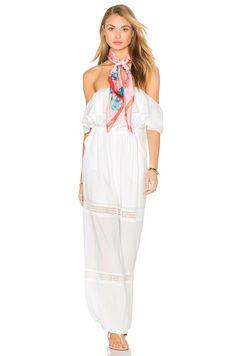 238184812ad 6 SHORE ROAD Paradise Lace Jumpsuit in Moonlight White Lace Jumpsuit