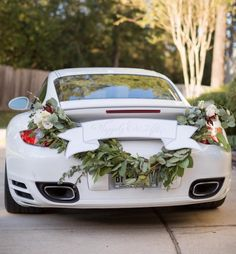 Wedding giveaway car idea; Featured photographer: Archetype