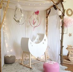 déco chambre indienne bébé fille style moderne chambre colorée lit bébé design
