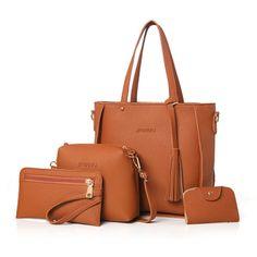Hot-sale designer 4 PCS PU Leather High-end Handbags For Women Shoulder Bags Online - NewChic