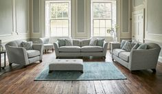 With delivery of your new sofa in as little as 14 days, and with loads of items to choose from, you'll be feeling at home on a brand new sofa in time for next weekend! Why wait for your new sofa if you don't need to. Sage Living Room, New Living Room, Living Room Sofa, Living Room Decor, Couches For Small Spaces, Fabric Sofa, Woven Fabric, Lounge Sofa, Modern Sofa