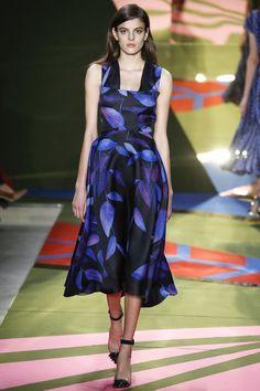 Lela Rose Fall 2016 Ready-to-Wear Collection Photos - Vogue Fashion Week, High Fashion, Fashion Show, Fashion 2016, Lela Rose, Pretty Dresses, Blue Dresses, Couture Dresses, Beautiful Outfits