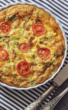 Quiche Recipes, Tart Recipes, Cooking Recipes, Quiches, Omelettes, Egg Quiche, Zucchini Pizzas, Vegan Blueberry, Egg Dish