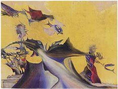 Surreal, 1942 - Jimmy Ernst