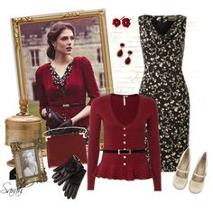 Get the Look - Classy Vintage Outfit, created by of-simple-things on Polyvore