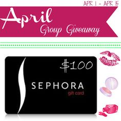Group Giveaway – $100 Sephora Gift Card | TrineMarie