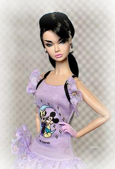 Poppy Parker in Disney Fashion   by daniela.markovna