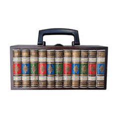 Bibliotheque Theme Handbag 1950s