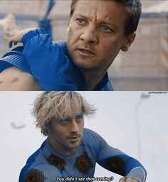 Just a reminder of the hero we lost in Avengers: Age of Ultron before we lose more in Infinity War. Avengers Fan Art, Avengers Imagines, Avengers Quotes, Avengers Cast, Marvel Avengers, Marvel Characters, Marvel Movies, Quicksilver Marvel, Wanda And Vision