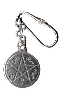 Supernatural Inspired Devil's Trap Keychain by Tvmerch on Etsy https://www.etsy.com/listing/189069383/supernatural-inspired-devils-trap