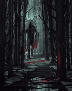 The monsters that roam the great forest.