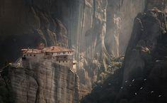Meteora. Kalampaka, Greece.  By Olga Scheglova on 500px
