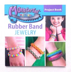 Monster Tail Rainbow Loom Bracelet Project Book