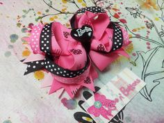 Barbie pink and black
