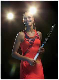 Ana Ivanovic in new Adidas dress for US Open 2013