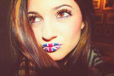 UK lip tattoo