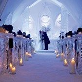 Would you get married at the #IceChapel?    #weddingvenues  #winterweddings