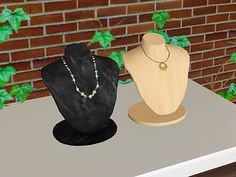 Jewelry Rack, Necklace Display, Sims 2, Empty State, Objects, Community, Business, Archive, Jewelry Case