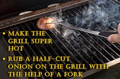 Cleaning stubborn stains from a barbeque grill and the grates, especially after having a gala time with your family and friends, can be very irritating. Find out some of the best ways to clean a barbeque grill, by using a few simple methods. Clean Grill Grates, Bbq Grates, Grilling Tips, Grilling Recipes, Best Outdoor Grills, How To Clean Bbq, Best Charcoal Grill, Diy Grill, Chemical Free Cleaning