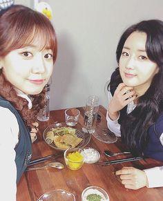 Apink´s Namjoo and Bomi
