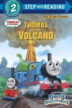 There is a volcano in the new Dinosaur Park. Some engines think it will erupt! What will Thomas do?