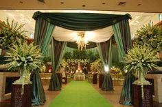 Javanesse Green Wedding. Decor by Agung Decoration Jakarta. I Love Sedap Malam..