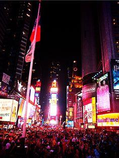Times Square NYE  something I definitely have to do on my bucketlist