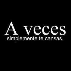 A veces...♡ Teresa Restegui http://www.pinterest.com/teretegui/ ♡